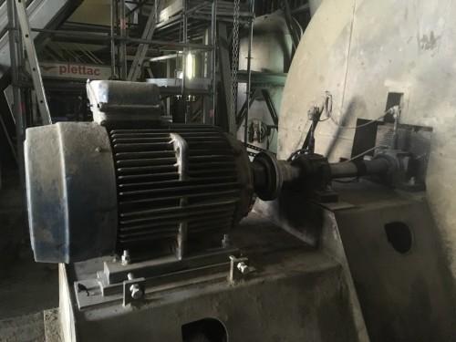 Interventions Eval : Ventilateur tirage cimenterie